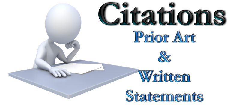 Citation of Prior Art and Written Statements America Invents Act Patent Law