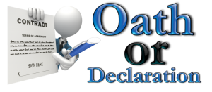 Inventors Oath or Declaration America Invents Act Patent Law