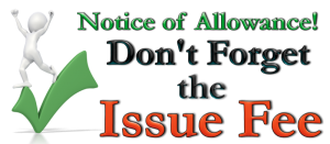 Notice of Allowance and Issue Featured