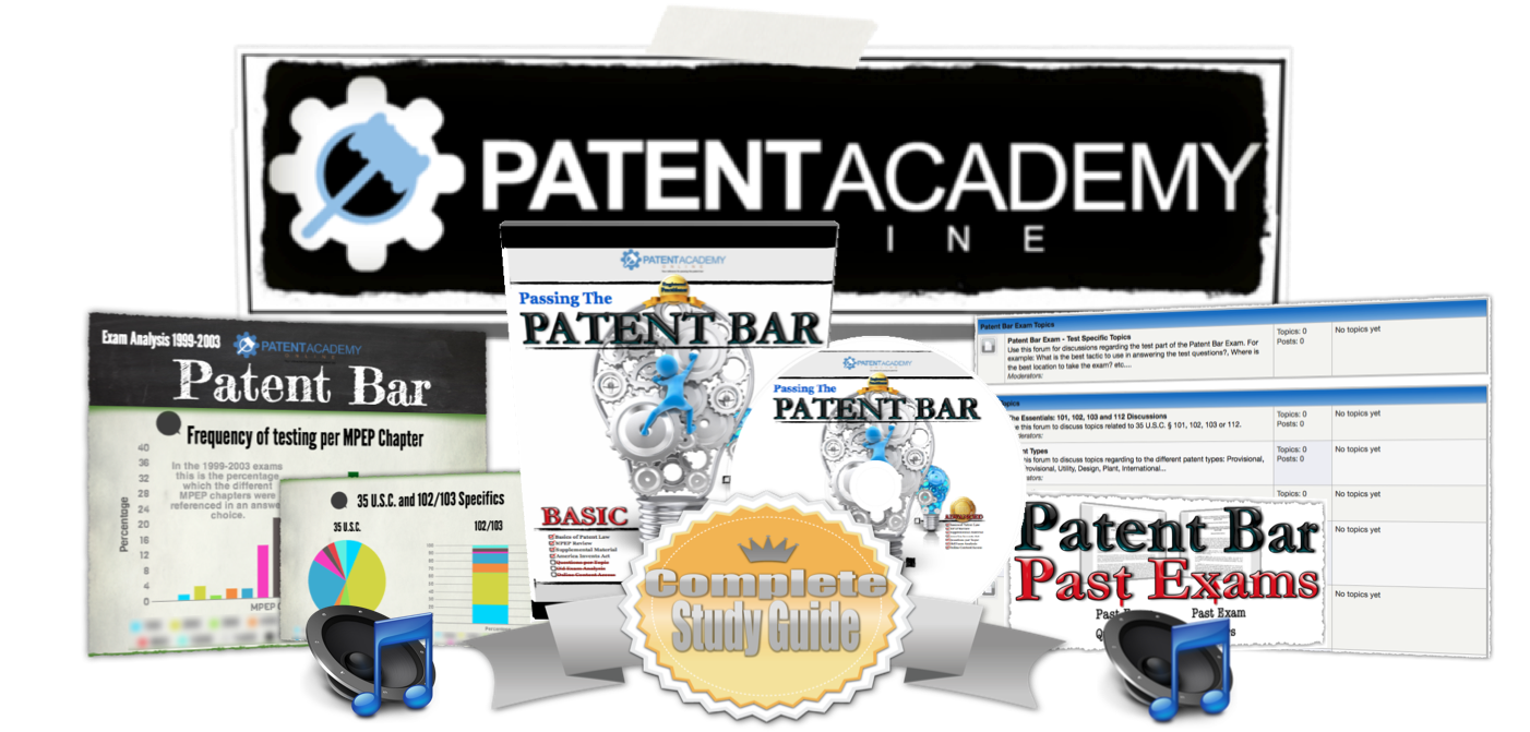 The Complete Passing the Patent Bar Study Course
